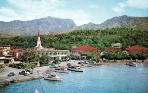 Front de mer de papeete, vers 1950