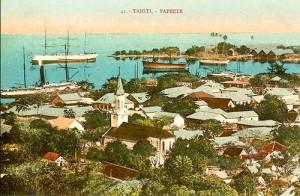 Papeete, Tahiti. 1900. Georges Splitz